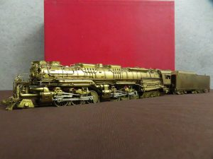 HO KEY IMPORTS ALLEGHENY CHESAPEAKE&OHIO 2-6-6-6 H-8 鉄道模型 機関車