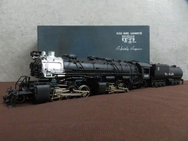 蒸気機関車  鉄道模型1